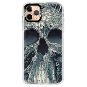 Silikonové pouzdro Bumper iSaprio - Abstract Skull na mobil Apple iPhone 11 Pro Max