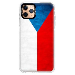 Silikonové pouzdro Bumper iSaprio - Czech Flag na mobil Apple iPhone 11 Pro Max