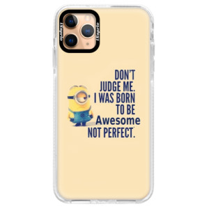 Silikonové pouzdro Bumper iSaprio - Be Awesome na mobil Apple iPhone 11 Pro Max