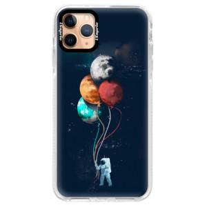 Silikonové pouzdro Bumper iSaprio - Balloons 02 na mobil Apple iPhone 11 Pro Max