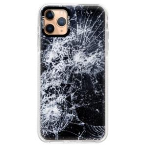 Silikonové pouzdro Bumper iSaprio - Cracked na mobil Apple iPhone 11 Pro Max