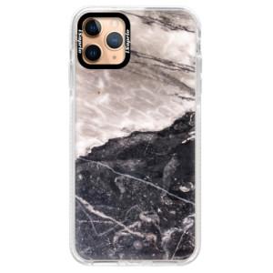 Silikonové pouzdro Bumper iSaprio - BW Marble na mobil Apple iPhone 11 Pro Max