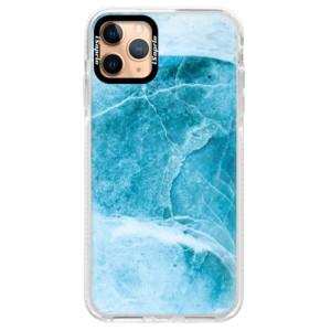 Silikonové pouzdro Bumper iSaprio - Blue Marble na mobil Apple iPhone 11 Pro Max