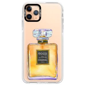 Silikonové pouzdro Bumper iSaprio - Chanel Gold na mobil Apple iPhone 11 Pro Max