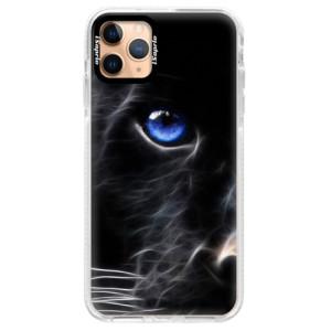 Silikonové pouzdro Bumper iSaprio - Black Puma na mobil Apple iPhone 11 Pro Max