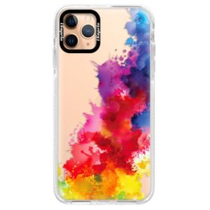 Silikonové pouzdro Bumper iSaprio - Color Splash 01 na mobil Apple iPhone 11 Pro Max