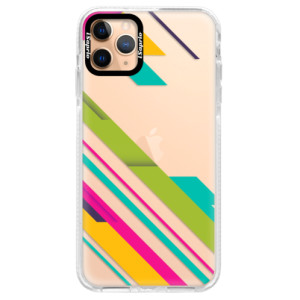 Silikonové pouzdro Bumper iSaprio - Color Stripes 03 na mobil Apple iPhone 11 Pro Max