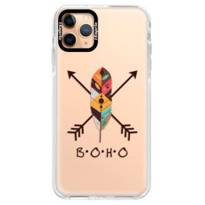 Silikonové pouzdro Bumper iSaprio - BOHO na mobil Apple iPhone 11 Pro Max
