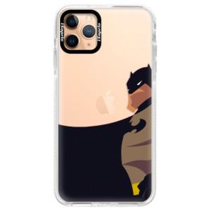 Silikonové pouzdro Bumper iSaprio - BaT Comics na mobil Apple iPhone 11 Pro Max