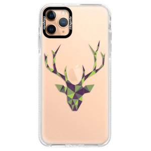 Silikonové pouzdro Bumper iSaprio - Deer Green na mobil Apple iPhone 11 Pro Max
