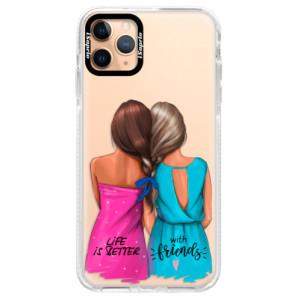 Silikonové pouzdro Bumper iSaprio - Best Friends na mobil Apple iPhone 11 Pro Max