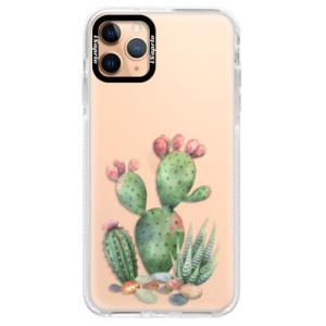 Silikonové pouzdro Bumper iSaprio - Cacti 01 na mobil Apple iPhone 11 Pro Max