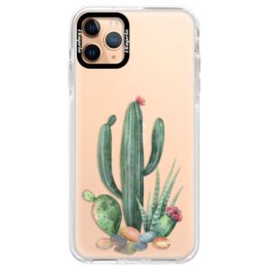 Silikonové pouzdro Bumper iSaprio - Cacti 02 na mobil Apple iPhone 11 Pro Max