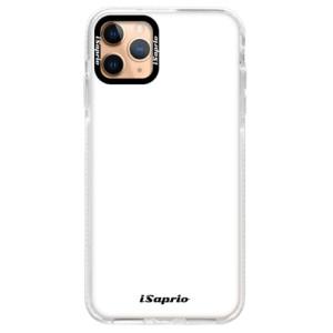 Silikonové pouzdro Bumper iSaprio - 4Pure - bílé na mobil Apple iPhone 11 Pro Max