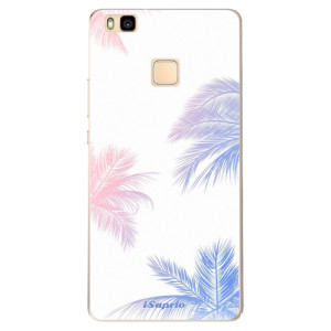 Odolné silikonové pouzdro iSaprio - Digital Palms 10 na mobil Huawei P9 Lite