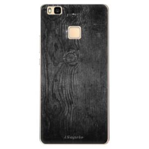 Odolné silikonové pouzdro iSaprio - Black Wood 13 na mobil Huawei P9 Lite