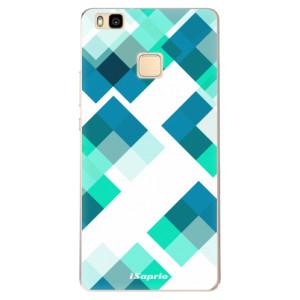 Odolné silikonové pouzdro iSaprio - Abstract Squares 11 na mobil Huawei P9 Lite