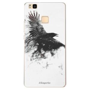 Odolné silikonové pouzdro iSaprio - Dark Bird 01 na mobil Huawei P9 Lite