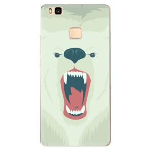 Odolné silikonové pouzdro iSaprio - Angry Bear na mobil Huawei P9 Lite