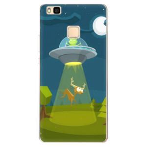Odolné silikonové pouzdro iSaprio - Alien 01 na mobil Huawei P9 Lite