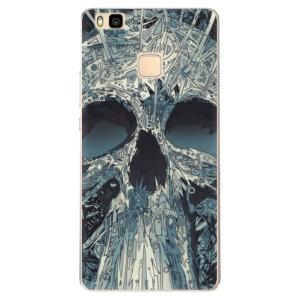 Odolné silikonové pouzdro iSaprio - Abstract Skull na mobil Huawei P9 Lite