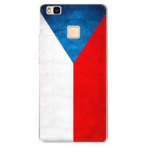 Odolné silikonové pouzdro iSaprio - Czech Flag na mobil Huawei P9 Lite