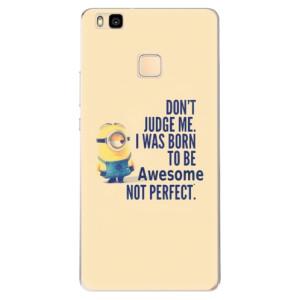 Odolné silikonové pouzdro iSaprio - Be Awesome na mobil Huawei P9 Lite