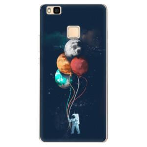 Odolné silikonové pouzdro iSaprio - Balloons 02 na mobil Huawei P9 Lite