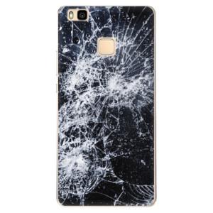 Odolné silikonové pouzdro iSaprio - Cracked na mobil Huawei P9 Lite