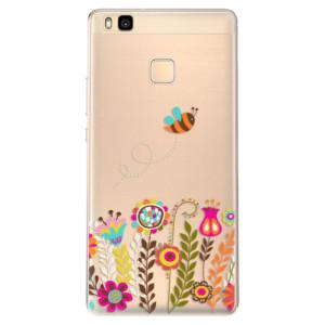 Odolné silikonové pouzdro iSaprio - Bee 01 na mobil Huawei P9 Lite