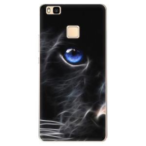 Odolné silikonové pouzdro iSaprio - Black Puma na mobil Huawei P9 Lite
