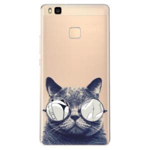 Odolné silikonové pouzdro iSaprio - Crazy Cat 01 na mobil Huawei P9 Lite
