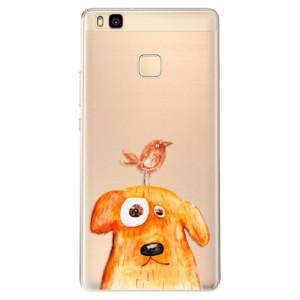 Odolné silikonové pouzdro iSaprio - Dog And Bird na mobil Huawei P9 Lite