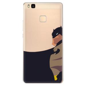 Odolné silikonové pouzdro iSaprio - BaT Comics na mobil Huawei P9 Lite