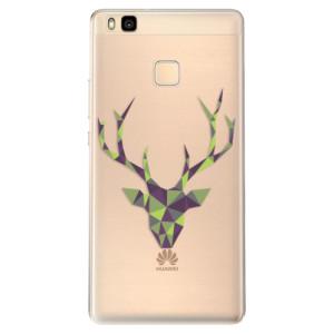 Odolné silikonové pouzdro iSaprio - Deer Green na mobil Huawei P9 Lite