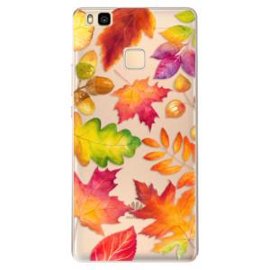 Odolné silikonové pouzdro iSaprio - Autumn Leaves 01 na mobil Huawei P9 Lite