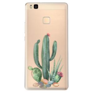 Odolné silikonové pouzdro iSaprio - Cacti 02 na mobil Huawei P9 Lite