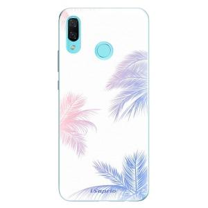 Odolné silikonové pouzdro iSaprio - Digital Palms 10 na mobil Huawei Nova 3