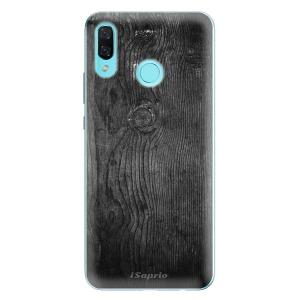 Odolné silikonové pouzdro iSaprio - Black Wood 13 na mobil Huawei Nova 3