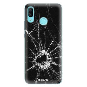 Odolné silikonové pouzdro iSaprio - Broken Glass 10 na mobil Huawei Nova 3