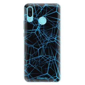 Odolné silikonové pouzdro iSaprio - Abstract Outlines 12 na mobil Huawei Nova 3