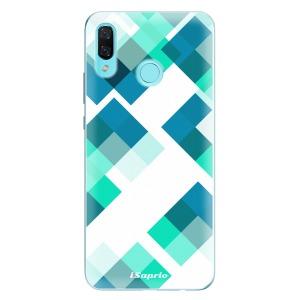 Odolné silikonové pouzdro iSaprio - Abstract Squares 11 na mobil Huawei Nova 3