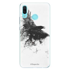 Odolné silikonové pouzdro iSaprio - Dark Bird 01 na mobil Huawei Nova 3