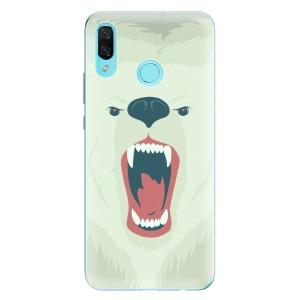 Odolné silikonové pouzdro iSaprio - Angry Bear na mobil Huawei Nova 3