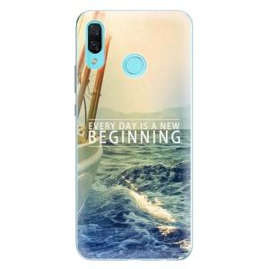 Odolné silikonové pouzdro iSaprio - Beginning na mobil Huawei Nova 3