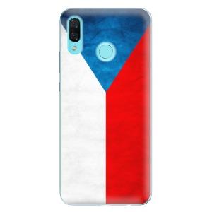 Odolné silikonové pouzdro iSaprio - Czech Flag na mobil Huawei Nova 3
