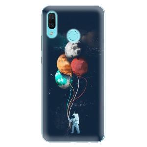 Odolné silikonové pouzdro iSaprio - Balloons 02 na mobil Huawei Nova 3