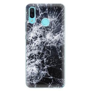 Odolné silikonové pouzdro iSaprio - Cracked na mobil Huawei Nova 3