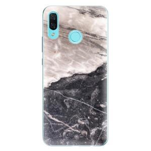 Odolné silikonové pouzdro iSaprio - BW Marble na mobil Huawei Nova 3
