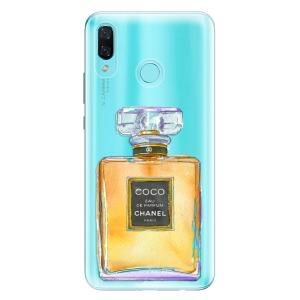 Odolné silikonové pouzdro iSaprio - Chanel Gold na mobil Huawei Nova 3